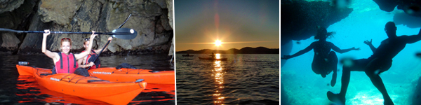 Short Kayaking Tour in Croatia