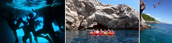 Kayaking Holidays in Croatia